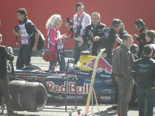 Daniel Ricciardo in World Series by Renault, Silverstone, 2010