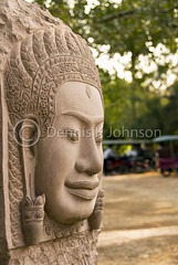 Stone Face, Artists de Angkor (dkjphoto) Tags: wood travel school sculpture art statue stone training garden student asia cambodia southeastasia artist khmer traditional silk culture angkorwat carving adventure exotic orient siemreap angkor artisan kampuchea artisansdangkor dennisjohnson