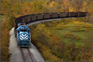 Cumberland Coal Train