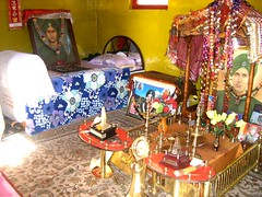 Baba Harbhajan Singh Shrine~~ Sikkim (Veena-Nair) Tags: india memorial sikkim samadhi 4000metresabovesealevel gangtok snowcappedmountain indianarmysoldier babaharbhajansinghshrine inhonourofbabaharbhajansingh easternsikkim