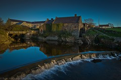 Annalong Cornmill at Sunrise (bazmcq) Tags: county uk ireland mountains mill water sunrise coast down northernireland mourne ulster mournemountains countydown mournes cornmill annalong flickraward northernirelandphotography barrymcqueen yahoo:yourpictures=waterv2