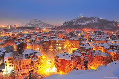 (.:: Maya ::.) Tags: city winter snow bulgaria plovdiv       mayaeye mayakarkalicheva