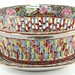 216. Rose Medallion Reticulated Bowl and Underplate