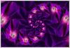 Deep Purple (Gerald H.) Tags: infinity morningglory drosteeffect droste recursivity mathmap