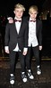 John Grimes and Edward Grimes aka Jedward celebrate their 21st Birthday at No. 37 Dawson Street Dublin, Ireland