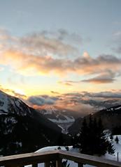 Avoriaz (ahm.) Tags: winter sunset snow france avoriaz