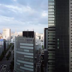 Nagoya (westkauai) Tags: japan rolleiflex square nagoya c41 portra400 colornegativefilm photoworkssf