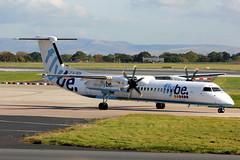 G-JECH DHC-8Q-402 Flybe MAN 21-10-12 (PlanecrazyUK) Tags: man manchester egcc flybe dhc8q402 gjech