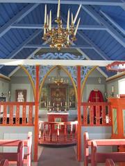 Iceland - Hvolsvollur - Skogasafn Folk Museum - Inside Church (JulesFoto) Tags: church museum iceland interior folkmuseum skogar skogasafn hvolsvollur