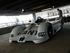 1999 Jenny Holzer BMW V12 LMR Art Car (BenGPhotos) Tags: white black art sports car race jenny 1999 racing german prototype bmw endurance lemans v12 lmr holzer