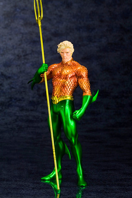 壽屋 正義聯盟的水行俠 NEW52的版本
