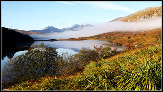 Early morning mist in Snowdonia