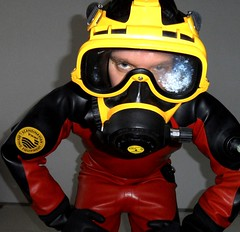 EXO26 and Viking (Adensy @ GF) Tags: kirby mask dry diving rubber suit gloves pro morgan viking 1000 drysuit fins exo exo26
