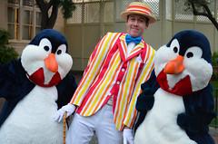 Bert and friends (EverythingDisney) Tags: penguins disneyland b