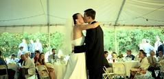 first kiss (troutfactory) Tags: california wedding friends film kiss archive rangefinder analogue firstkiss 50mmnokton kodak160nc bridgeandgroom voigtlanderbessat yesitscropped