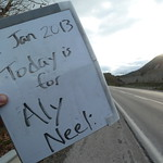 """Today is for Aly Neel <a style=""""margin-left:10px; font-size:0.8em;"""" href=""""http://www.flickr.com/photos/59134591@N00/8369760157/"""" target=""""_blank"""">@flickr</a>"""