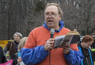 Witness Against Torture: Art Laffin Reads Scripture