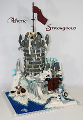 Urtic Stronghold (Siercon and Coral) Tags: bear snow castle water lego polar moc urtic blitzard urtican