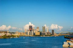 The West End Bridge's view of the Pittsburgh skyline HDR (Dave DiCello) Tags: beautiful skyline photoshop nikon day pittsburgh cloudy tripod usxtower christmastree mtwashington northshore northside bluehour nikkor hdr highdynamicrange pncpark thepoint pittsburghpirates cs4 d600 ftpittbridge steelcity photomatix beautifulcities yinzer cityofbridges tonemapped theburgh clementebridge smithfieldstbridge pittsburgher colorefex cs5 ussteelbuilding beautifulskyline d700 thecityofbridges pittsburghphotography davedicello pittsburghcityofbridges steelscapes beautifulcitiesatnight hdrexposed picturesofpittsburgh cityofbridgesphotography