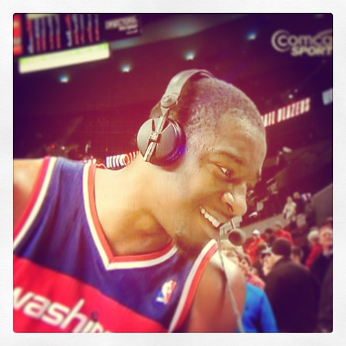 "Headset Steez, circa Jordan Crawford. ""Sizzle,"" his teammates called him; he called Portland, ""toast."""