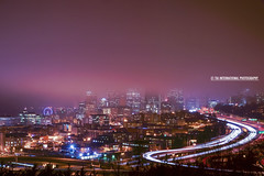 Seattle Fogline (TIA International Photography) Tags: seattle county city light urba