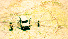 Holiday in France (glukorizon) Tags: auto car toys lego map frankrijk roadmap kaart manandwoman odc speelgoed landkaart manenvrouw routekaart odc2 ourdailychallenge ourparentswar