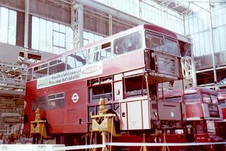DMS2236 OJD236R Aldenham September 1979