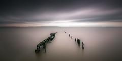 whitstable (richard carter...) Tags: longexposure seascape canon kent jetty remains whitstable 1635 mutedcolours eos5dmk2