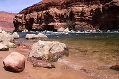 Down by the river (Mr. Pebble / Bildwerfer) Tags: arizona usa canon landscape grandcanyon coloradoriver landschaft navajoreservation leesferry marblecanyon theriffle