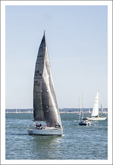 I Am Sailing (Fazer44) Tags: uk blue sea england water canon boat sailing isleofwight cowes canonef24105mm