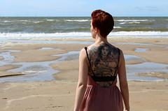 (biancaaalberts) Tags: green beach strand uitgeest castricum sea fashion mode vlieger flying fly fifties sound music duinen zand sand flowers bloemen holland netherlands yellow blu