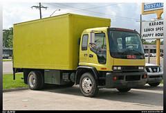 GMC T-6500 (uslovig) Tags: gmc t 6500 tilt cab new orleans louisiana koffer aufbau box body truck lorry camion lkw lastwagen lastkraftwagen