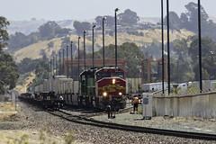 Local Work (lennycarl08) Tags: bnsf burlingtonnorthernsantafe burlingtonnorthernsantaferailroad northbay stocktonsub trains railroad eastbay california