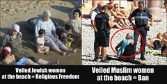 The absurdity & utter racism of the French burkini ban (Golbarg Bashi Fine Arts Photography) Tags: frenchburkiniban burkini marginalizing religiousfreedom veiled veiledwomen jewishwomen muslimwomen nun nuns coveringup waronterror islamophobia muslimhatred victimizing france nicebeach fascism neofascism racism racist frenchracism frenchpolice muslim muslims muslimgirl muslimwoman femalemuslim islamic islamicpeople islamicwomen islamicwoman islamicgirl headscarf collage golbargbashi political politicalhypocrisy islamophobic muslimophobia prejudice hatred bigotry burqini burqinigate fra shameonfrance lacit laicite