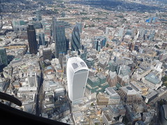 City of London from 1500 feet, 14th August 2016. (HooBoy2000) Tags: cityoflondon london walkietalkie gerkin tower42 thecheesegrater