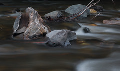 Boulders of Devonian Waits River formation and volcanics. (koperajoe) Tags: geology longexposure river water boulder schist volcanic geomorphology thalweg stone zen