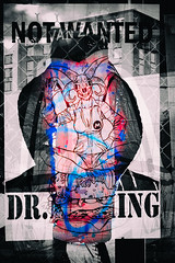 2016/08/28 Memories - Take 2 (-Dons) Tags: austin texas unitedstates streetart tx usa graffiti wheatpaste drnothing notwanted torn beast