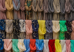 A Scarf for Everyone (Harry2010) Tags: scarf sale colourful venice veneza italy