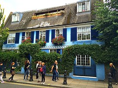 THE BLUE HOUSE (carolynthepilot) Tags: worldtraveller worldtraveler weather goldenwings getaway global silkstockings sky travel romanticgetaway romantic romanticdestination explore europe european london uk nottingham nottinghamhill british brits iceland interesting image international postcard photoshoot passport londonengland england carolynbistline carolynthepilot carolynsuebistline exotic exploring adventure nature nationalgeographic nationalgeo nationalgeographicexplorer mike mustsee michael trip holiday bistline carolyn beautiful architecture amazing