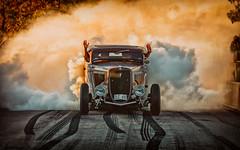 1934 Ford coupé at Power Big Meet 2016 (Subdive) Tags: 2016 burnout powerbigmeet powermeet sweden västerås
