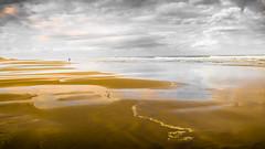 Ocean (Jazzimages) Tags: ocean mer vague solitude nuages see clouds people personne vide sable