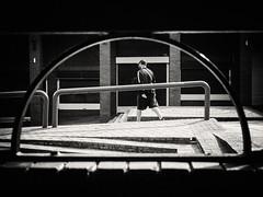 DSCF6275 (Neil Johansson LRPS) Tags: fuji fujifilm x30 fujifilmx30 black white blackandwhite monochrome bw noir filmnoir cinematic light dark lines urban urbanphotography streetphotography photo photograph photography figure digital landscape crewe northwest england uk cheshire