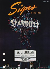 Signs of the Times Stardust Spectacular 1968 - Sign Designed by Paul Miller for Ad Art, Inc. (hmdavid) Tags: stardust pylon sign lasvegas nevada spectacular 1960s 1968 adart paulmiller designer signsofthetimes magazine cover