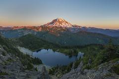 Mt Rainier, from Tolmie Peak. (Torrin Visual Media) Tags: nikon d800 lanscape northwest washington mtrainier tolmiepeak