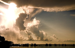 Battle in the Sky. (Dan Staige) Tags: clouds stormclouds sun florida tampa tampabay