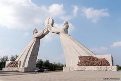 Arch of Reunification, Pyongyang (George Pachantouris) Tags: dprk north korea pyongyang kim ilsung jongil jongun communism socialism
