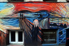Wrocaw, 2016. (difficiles) Tags: wroclaw wrocaw poland polska street art scream krzyk edvard munch city painting