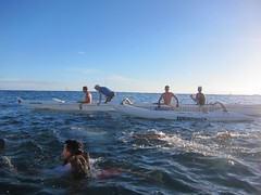 IMG_6811 (nautical2k) Tags: waikikibeachboys paddling outrigger canoe diamondhead honolulu oahu