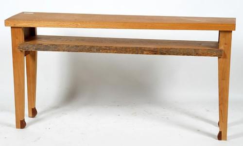 Slab Wood Live Edge Window Table ($291.20)