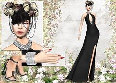 KELINI - Feeling Dress (Rehana MiSS SLVietnam, Face of CHOP ZUEY 2015) Tags: sl secondlife fashion rehana rehanaseljan newrelease kelini chopzuey lode laboheme slink boon posesion ane